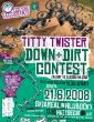 Titty Twister Down+Dirt Contest - propozice