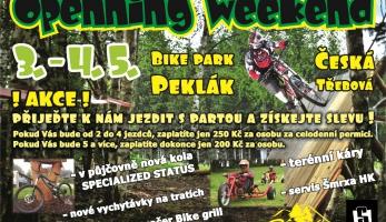 Bike park Peklák spouští lano tuto sobotu