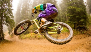 Video: s fatbikem v bikeparku