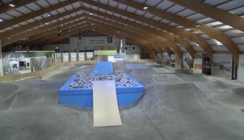 Video: Velosolutions Indoor Bike Park Pfaffikon