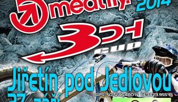 Meatfly 3DH CUP 2014 - poslední letošní závod již tuto sobotu na Jedlové!