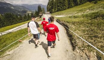 Fotogalerie a video: Světový pohár Leogang - den první