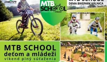 Pozvánka: MTB School Dema Bikepark Kalnica