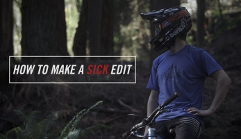 Páteční prda: How to Make a Sick Mountain Bike Edit