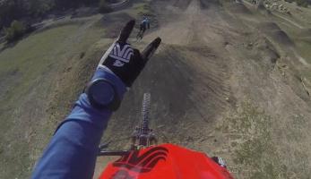 Video: Hopsando grando v bikeparku La Fenasosa