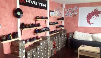 Speciálka na boty Five Ten otevírá v Brně