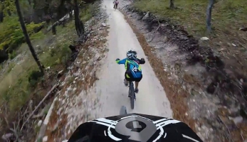 Video: Flow Country Trail Petzen - bikroska z kopce