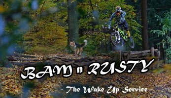 Video: Bam-n-Rusty 4.0 - video s traildogem vždy pobaví