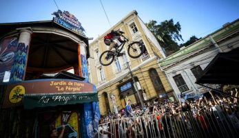 Valparaiso Downhill Urban 2015 - Datel opět druhý