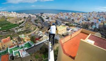 Video: Danny MacAskill neuvěřitelná jízda na Gran Canaria