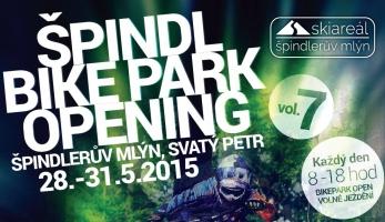 Špindl bikepark opening no. 7 již tento víkend