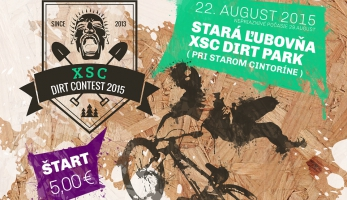 Video: XSC Dirt Contest 2015 - pozvánka