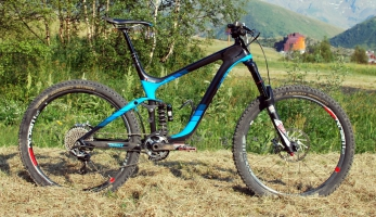 Bikecheck: Yoann Barelli - Giant Reign Advanced 27.5 0 Team