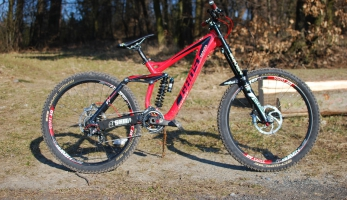 Bikecheck: DH prototyp Ghost Tomáše Slavíka