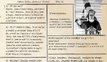 Rozhovor: DUAL PRISONS #7 - Ondra Kinkor
