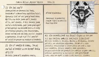 Rozhovor: DUAL PRISONS #6 - Milan Myšík