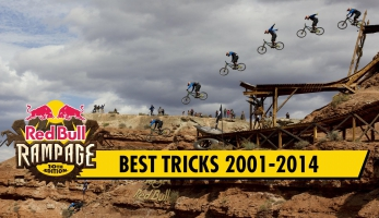 Video: Red Bull Rampage - Top Tricks 2001-2014