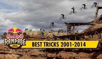 Video: Red Bull Rampage - Top Tricks 2001-2014