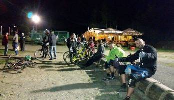 Kopřivná Bikepark Mongol weekend na vlastní kůži