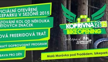 Pozvánka: Kopřivná Bike Opening 2015