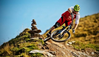 Video: Freeride a enduro v Saalbach Hinterglemm