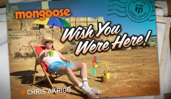 Video: Chris Akrigg - WISH YOU WERE HERE