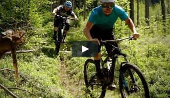 Video: Michal Pokštefl a Filip Štrunc trailují na Šumavě