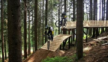 Bikepark Špičák otevírá tento víkend
