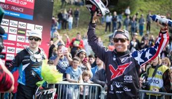 Světový pohár: Aaron Gwin vítězí v Lurdách