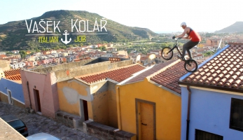 Video: Vašek Kolář - Italian job - freestyle trial video