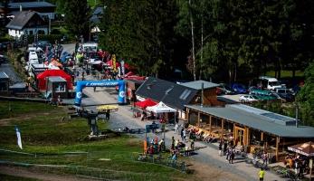 Kopřivná Bikefest pohled druhý - poprvé na velké akci