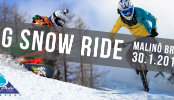 BIG SNOW RIDE - hromadný i individuální DH závod na sněhu - PŘESUNUTO!!!