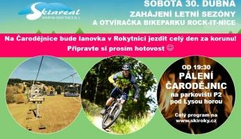 Bikepark Rock-it-nice otvírá tento víkend
