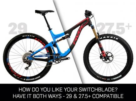 Pivot Switchblade - kolo, co um� jak 27.5+, tak dev�tadv�ci