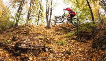 Foto a video: nejlíp strávený svátek je na kole a třeba na Zlatce