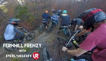 Video: Fernhill Frenzy - hromadný sjezd po novozélandsku