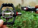 Test: pedály Exustar E-PM825 - espédéčka s naklápěcí klecí