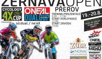 Pozvánka: Oneal dual cup a Cycology 4X cup - Žernava Open