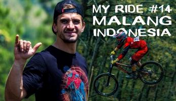 Video: Matěj Charvát - Led v plus 30°C?! - Indonesian Downhill Klemuk 2017