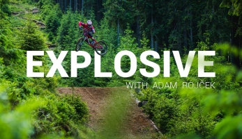 Video: Adam Rojček v Jasné jede hroznou kudlu