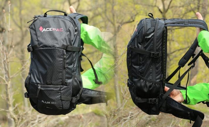 Test: Acepac Flux Protector - český batoh s certifikovaným páteřákem