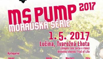 Moravská série MS Pump - seriál závodů v pumptracku začíná na prvního máje