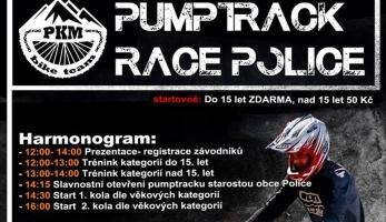Pozvánka: PUMPTRACK RACE POLICE - již tento víkend
