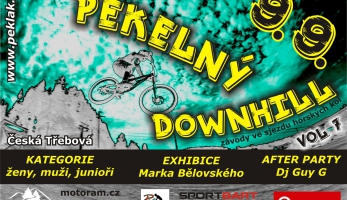 Pozvánka: Pekelný downhill - v září opět na Pekláku