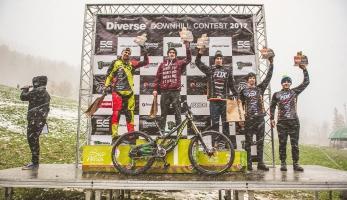 Výsledkový servis 2017 #6 - Folvarečný druhý na Diverse Downhill Contest Wisla