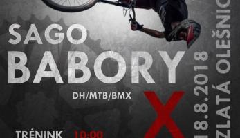 Pozvánka: Sago Babory bikepark hostí tento víkend speed and style a best trick