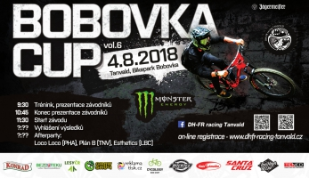 Bobovka Cup vol. 6 - závody v korytě bobové dráhy jsou zde zase