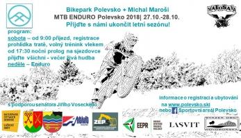 Pozvánka: Mtb Enduro Polevsko se jede tento víkend
