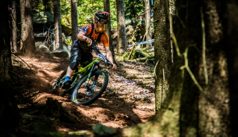 CANNONDALE KUR ENDURO na Enduro Trutnov Trails