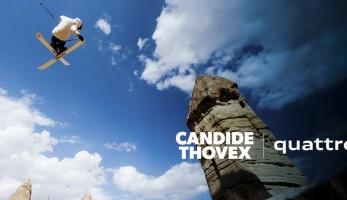 Video: Candide Thovex sníh nepotřebuje